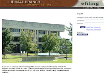 Third Judicial District, KS - Official Website - E-Filing